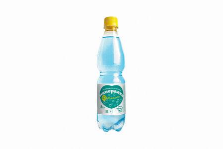 Минеральная вода Подорожник с газом