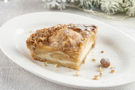 Пирог из груши и рикотты