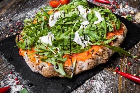 Римская пицца со страчателлой