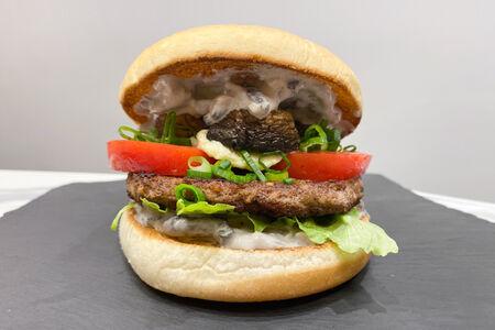Бургер с грибами