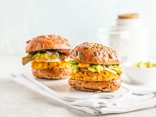 Вегетарианские бургеры jiva