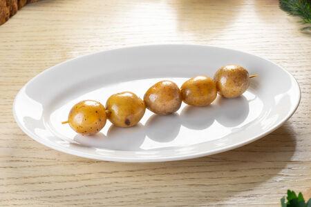 Картофель черри на гриле