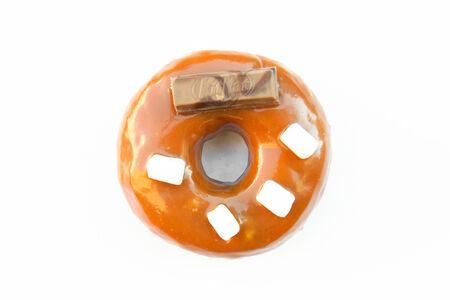 Пончик Карамель-яблоко