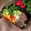 Фото к позиции меню Салат с тунцом и авокадо