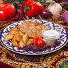Фото к позиции меню Отбивная по-узбекски
