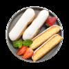 Фото к позиции меню Пирожное Эклер с ванильной начинкой от шеф-кондитера Ав