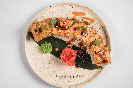 Ролл 1st De Luxe с лососем