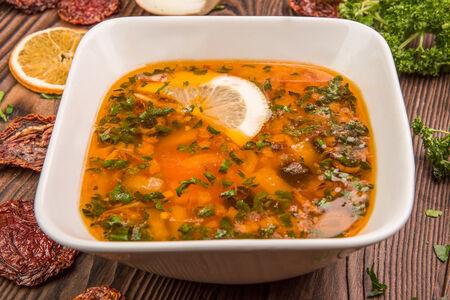 Суп-солянка сборная