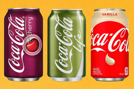 Coca-Cola в ассортименте