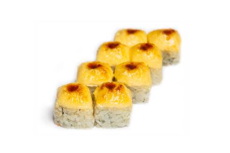 Запеченный ролл Сливочно-сырный