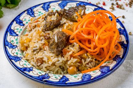 Сет Плов и корейская морковь