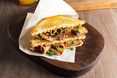Сэндвич с пастрами