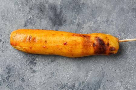 Шашлык из кукурузных пампушек