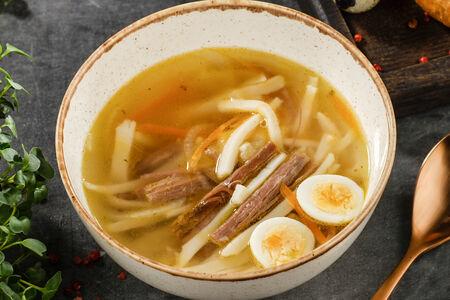 Суп Домашняя лапша с уткой