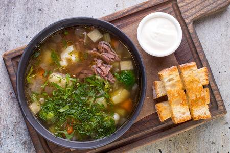 Суп Мясной с овощами