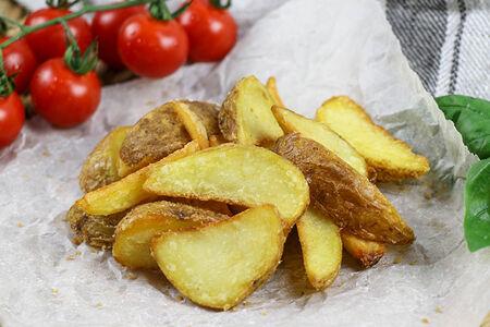 Картофель Айдахо по-деревенски