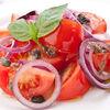 Фото к позиции меню Салат из помидоров с красным луком