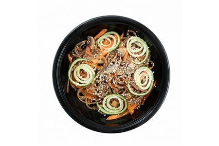 Лапша Соба с овощами в соусе терияки
