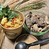 Фото к позиции меню Каша рисовая на кокосовом молоке с цыпленком и шиитаке
