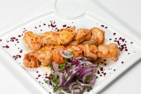 Шашлык из куриного филе по-турецки