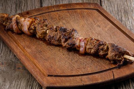Шашлык из мраморной говядины