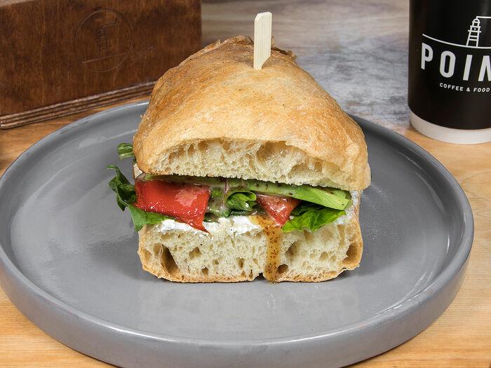 Сэндвич с овощами