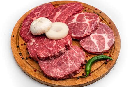 Мясное ассорти из мраморной говядины