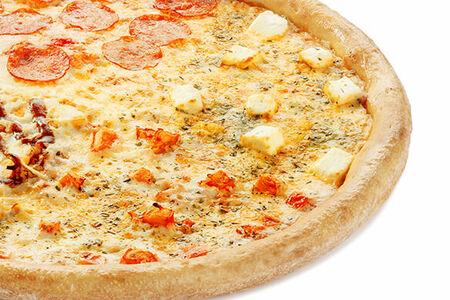 Пицца Папа Микс, колбасный борт