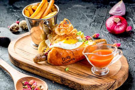 Хот-дог Английский завтрак