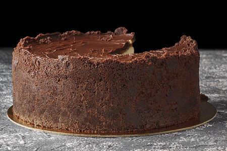 Чизкейк шоколадно-арахисовый