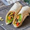 Фото к позиции меню Сендвич-ролл с печеными овощами