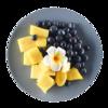 Фото к позиции меню Фруктовый микс ананас, голубика Mosaic