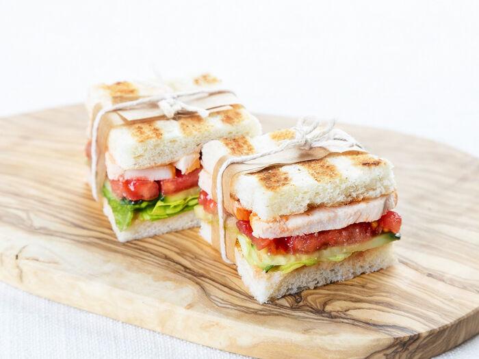 Мини-сэндвичи с курицей