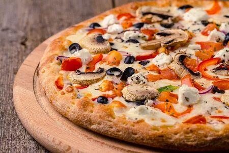 Пицца Овощи и грибы