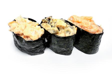 Спайси суши с осьминогом