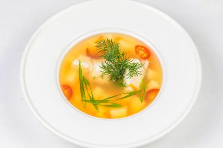 Суп Уха из дальневосточной рыбы