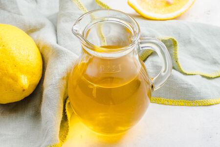 Чай холодный с лимоном