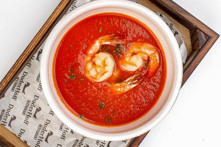 Суп Томатный с креветками