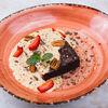 Фото к позиции меню Десерт Шоколадный брауни