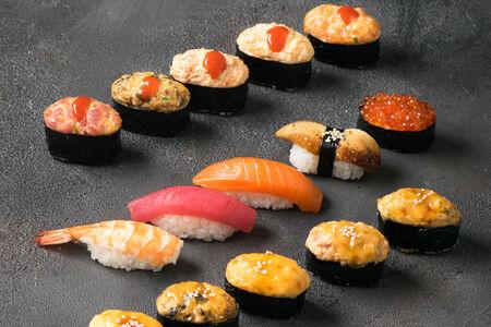 Запеченный сет Суши