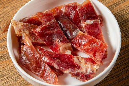 Мясные чипсы свинина