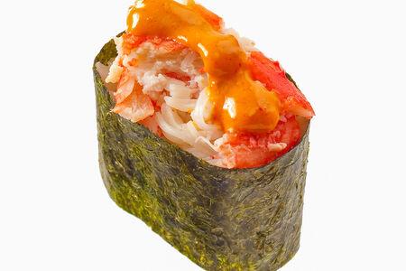 Спайс-суши с крабом