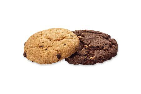 Печенье Криспи шоколадное и молочное