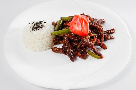 Мясо по-китайски из говядины