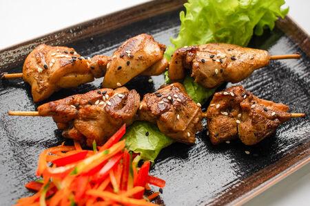 Куриные шашлычки с соусом Терияки