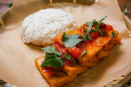 Сыр тофу с рисом Дау Фу Шот