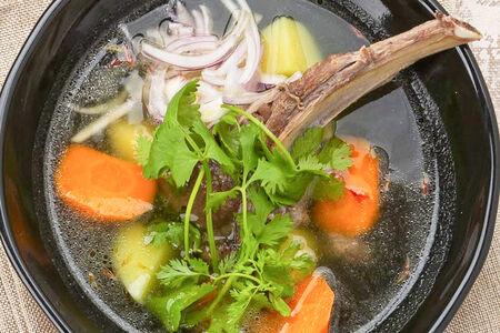 Суп Шурпа с бараниной