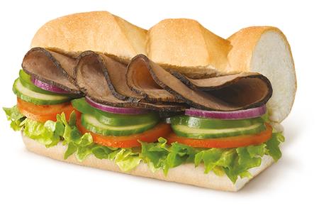 Сэндвич Ростбиф