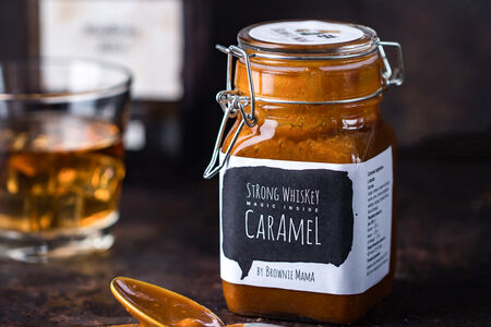 Соленая карамель с виски
