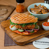 Фото к позиции меню Вегетарианский Бургер Поховани качкаваль
